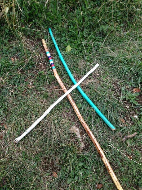 Nos bâtons de marche customisés