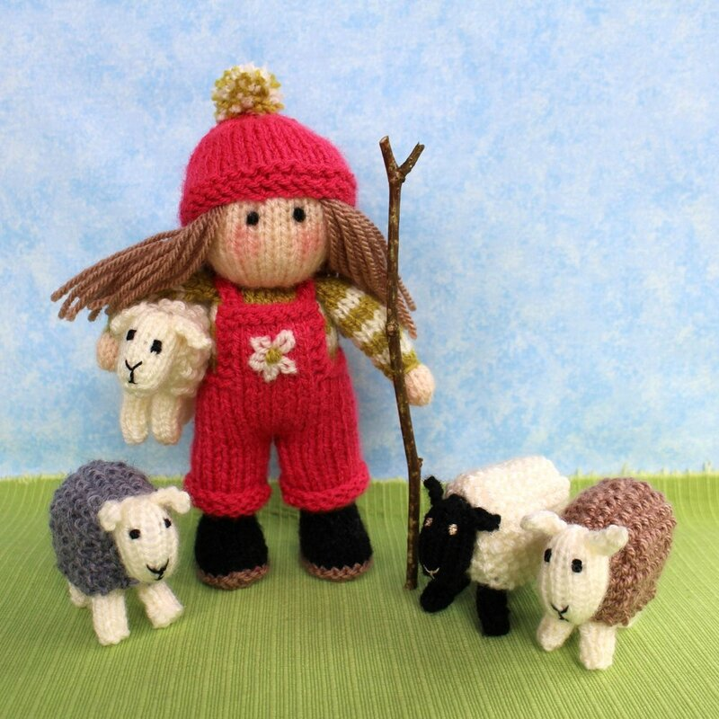 Traduction Bo Peep and her sheep - Dollytime