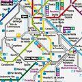 [madrid] plan métro + banlieue
