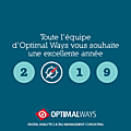 Vœux optimal ways 2019