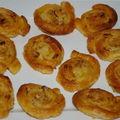 palmitos ,noix de pécan et vergeoise .......
