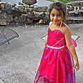 Elle voulait la robe de maryposa...