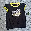 Tee-shirt adorable, 9 mois
