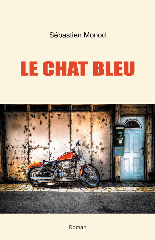 Le Chat bleu - couverture