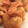 Crevettes panées croustillantes à la noix de coco