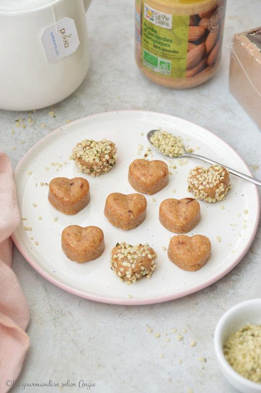 energy ball cru vegan sans gluten datte amande coco chanvre