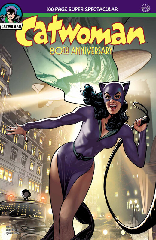 catwoman 80th anniversary special 1940 adam hughes variant
