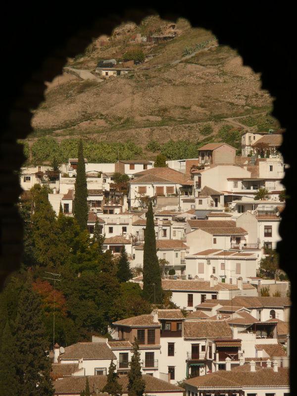 Grenade, vue depuis l'Alhambra