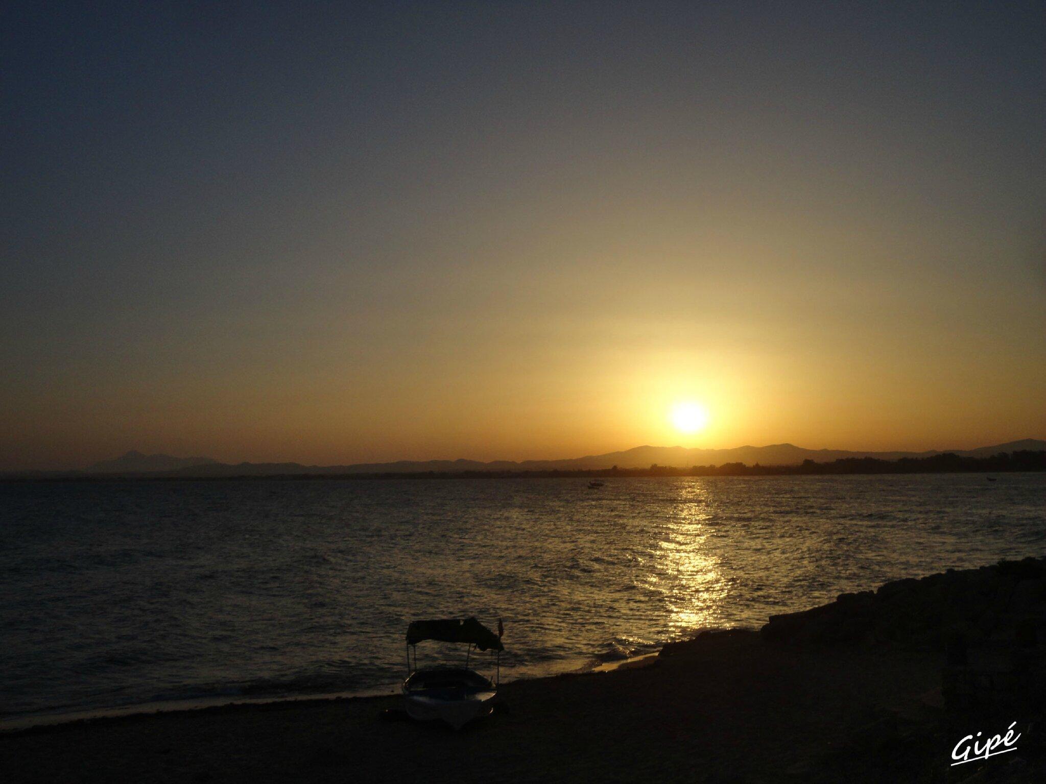 Coucher de soleil du dimanche 28 juillet 2013