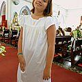 Rosamée taille 14 ans, portée par romane, 10 ans