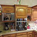Peinture et patine d'une cuisine