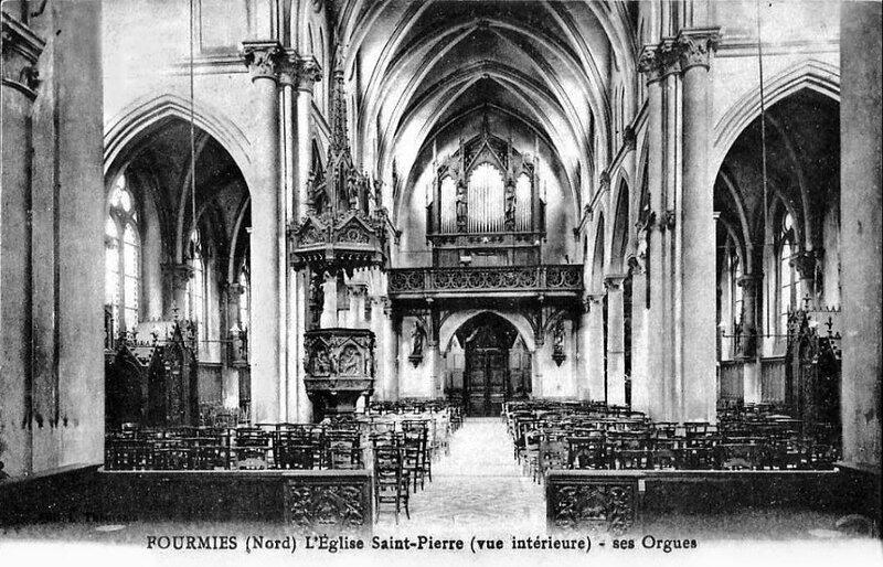 FOURMIES-L'église Saint-Pierre