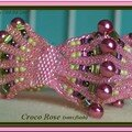 Croco rose ss flash