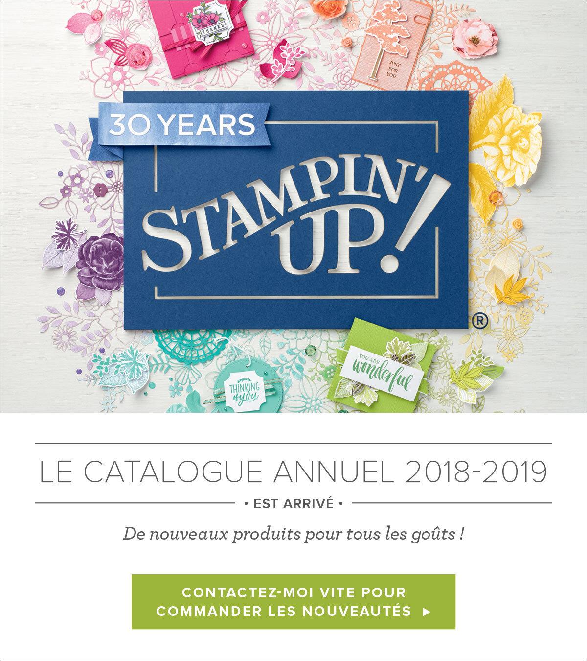 Stampin'Up ! - Le nouveau catalogue annuel est arrivé !
