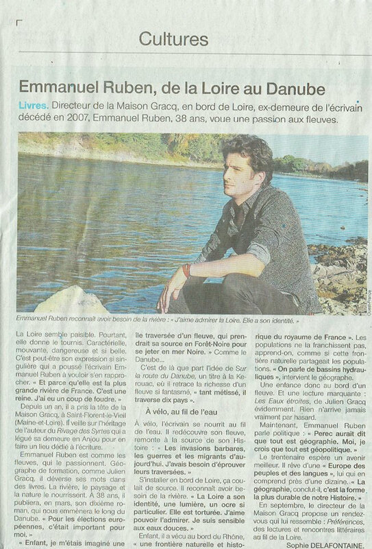 article Ouest France 16-01-19 Delafontaine