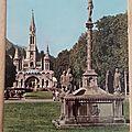Lourdes - calvaire datée 1970