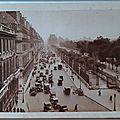 Rue de Rivoli - Jardins des Tuileries - Le Louvre