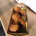 Une chaudronnée de compote et une fournée de muffins