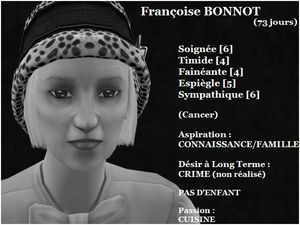 Françoise BONNOT