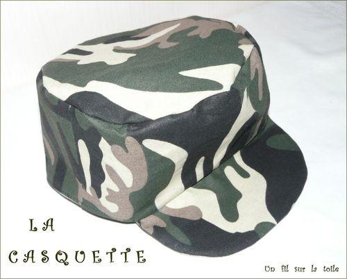 2009 03 - Casquette camouflage, patron Lilibidouille