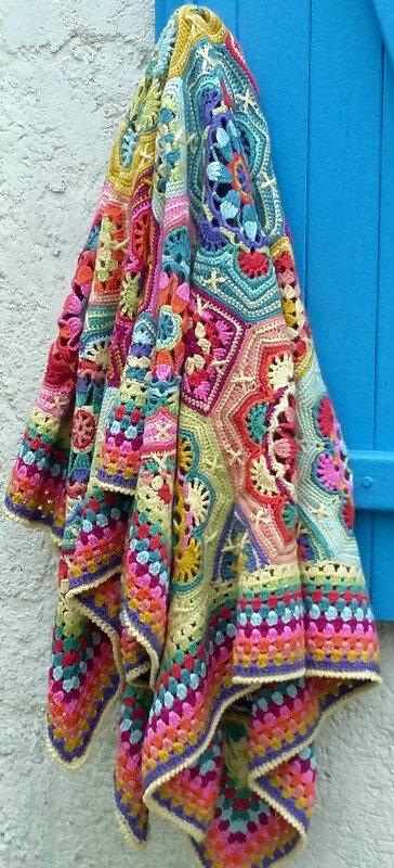 Persian Tiles Blanket, encours terminé