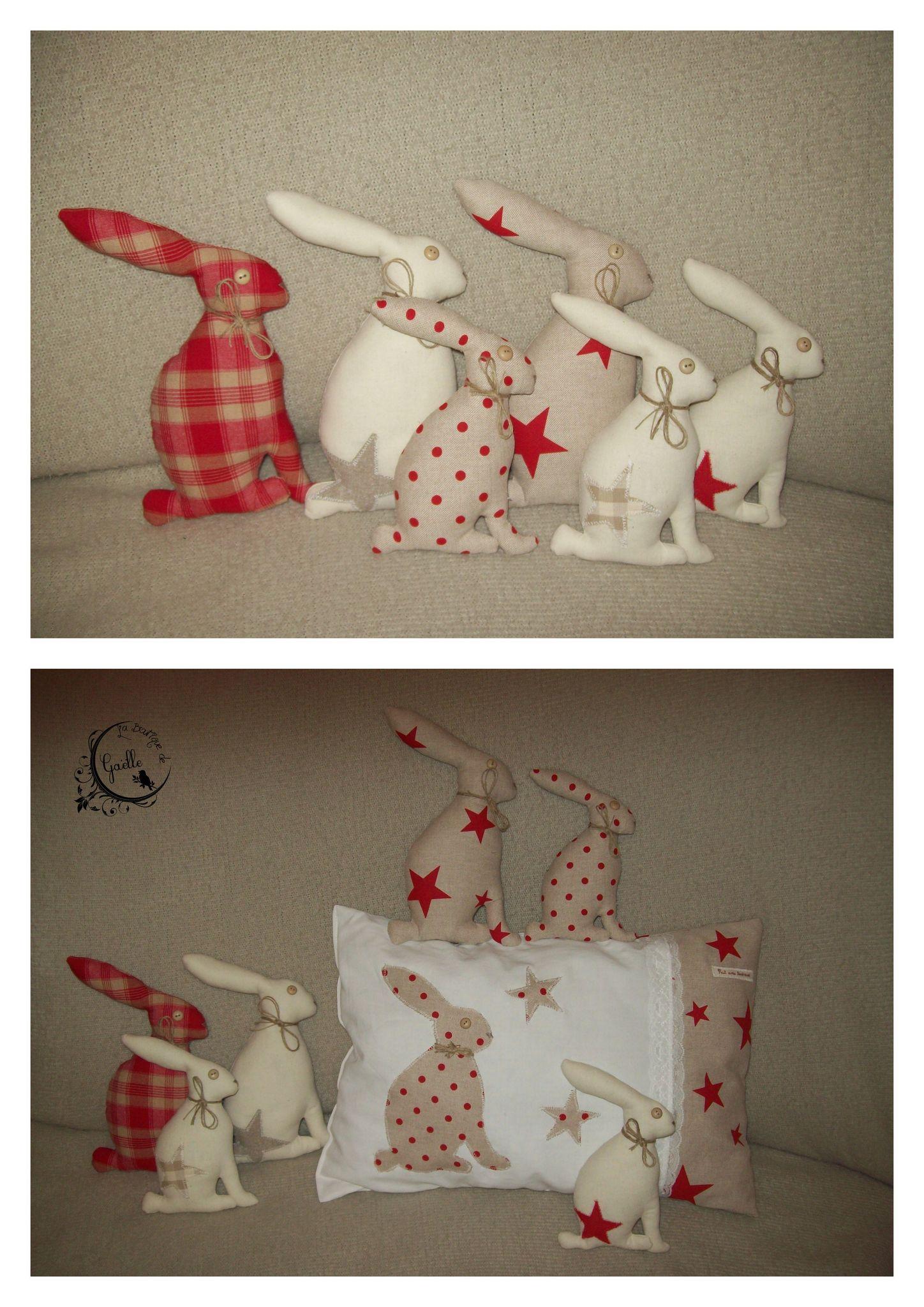 Série lapins rouges...