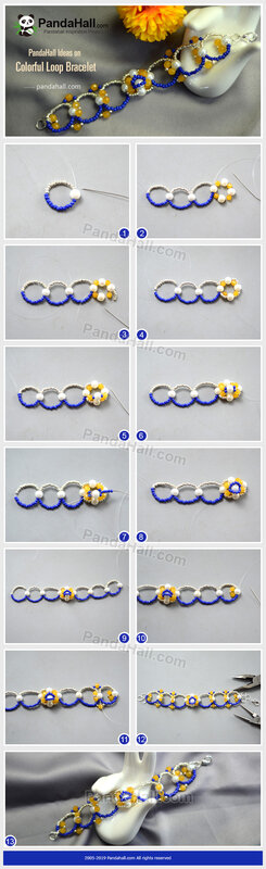 5-PandaHall-Ideas-on-Colorful-Loop-Bracelet