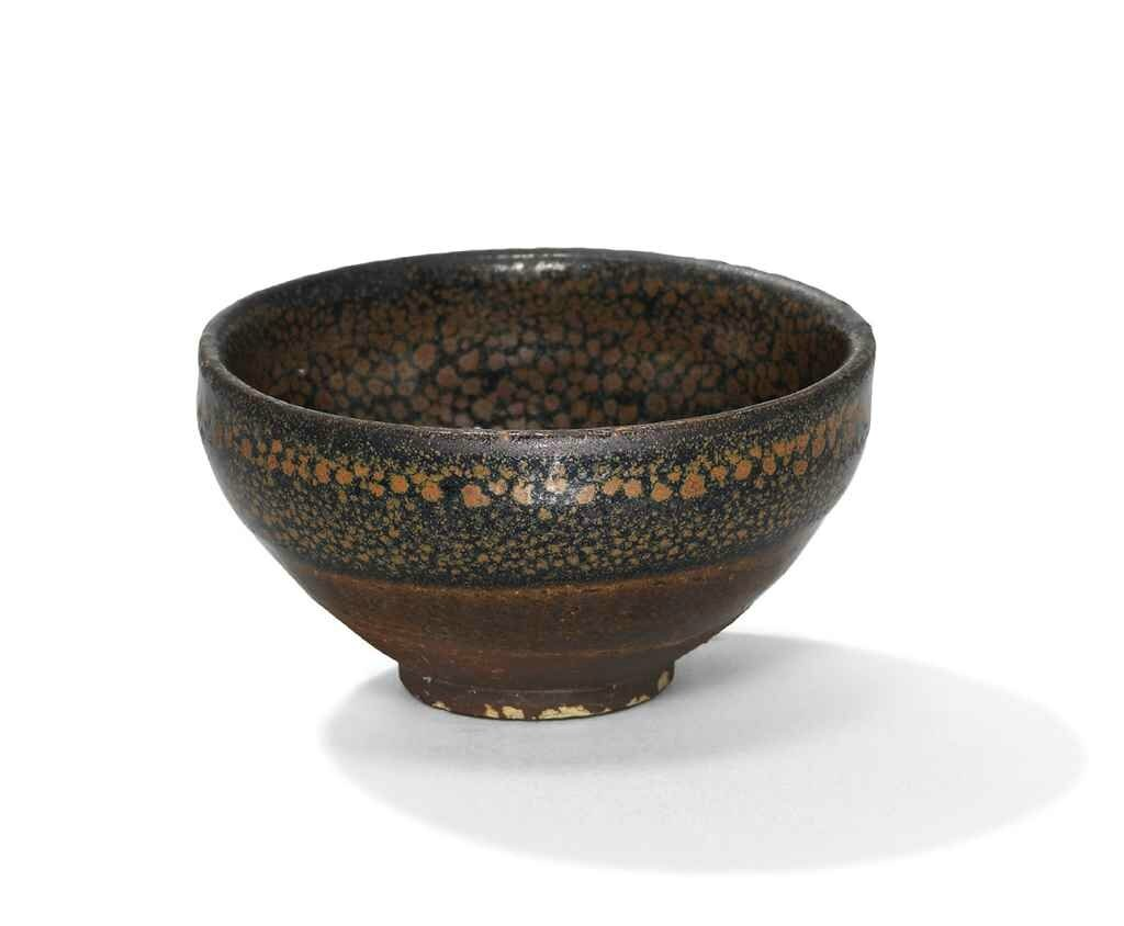 A small Huairen black-glazed russet 'oil spot' bowl , Northern Song-Jin dynasty (960-1234)
