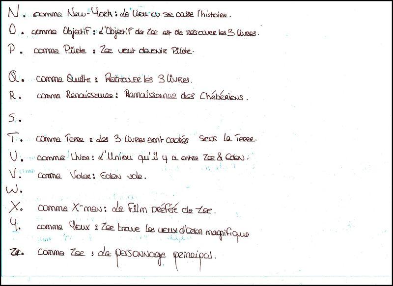 L Abecedaire De La Quete Des Livres Monde Le Blog Du Cdi Du College Paul Langevin A Mitry Mory