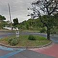 Rond-point à belo horizonte (brésil)