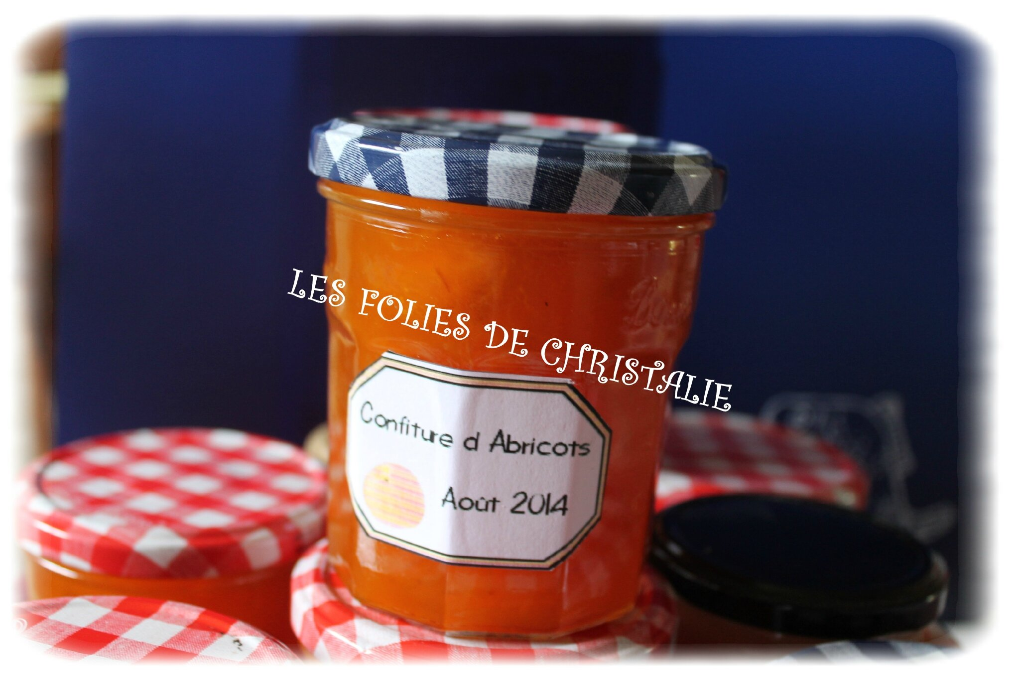 confiture abricot kitchenaid