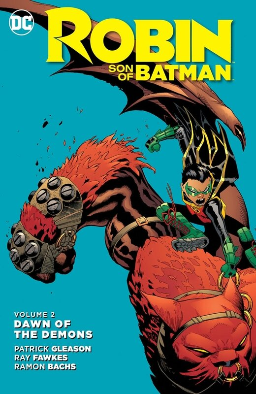 new 52 robin son of batman vol 2 dawn of the demons HC