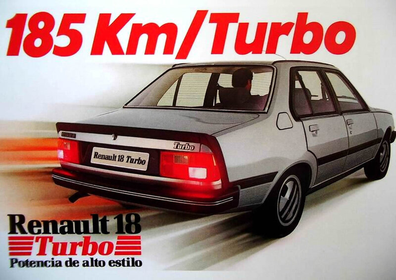 renault la french touch palmares r18 turbo