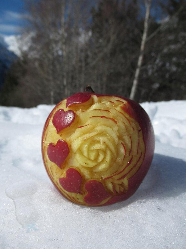 Pomme à la montagne #8