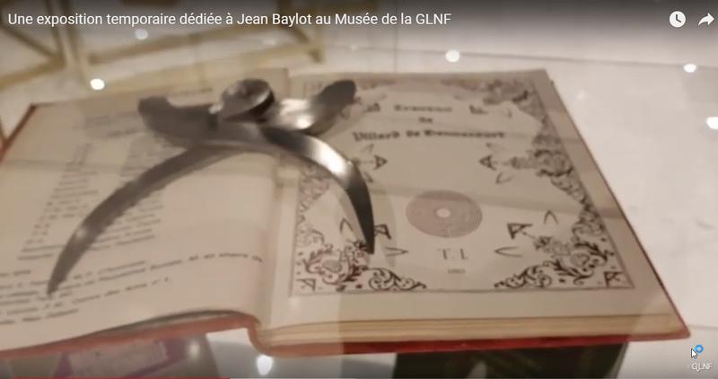 2019-11-04 00_27_14-Une exposition temporaire dédiée à Jean Baylot au Musée de la GLNF - YouTube - O