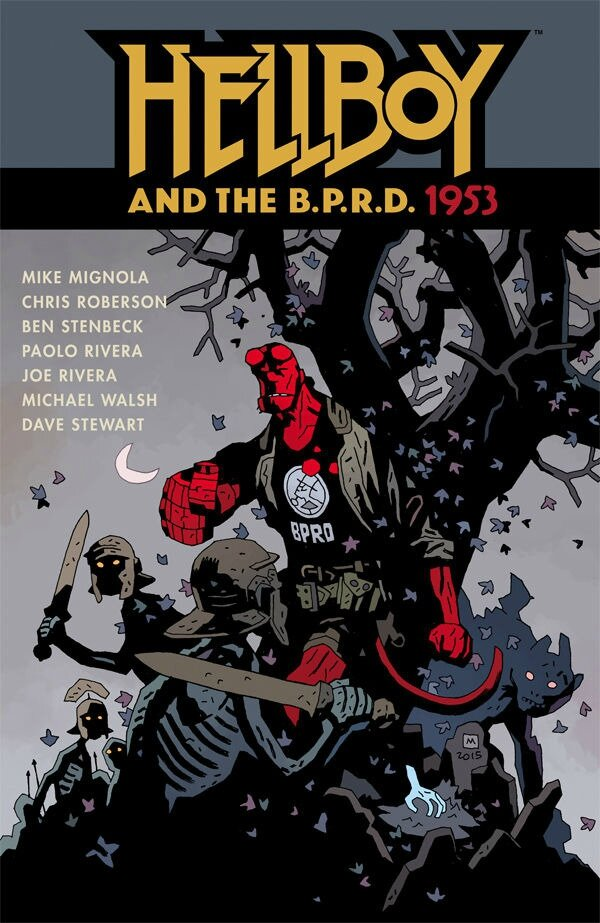 dark horse hellboy and the BPRD 1953 TP