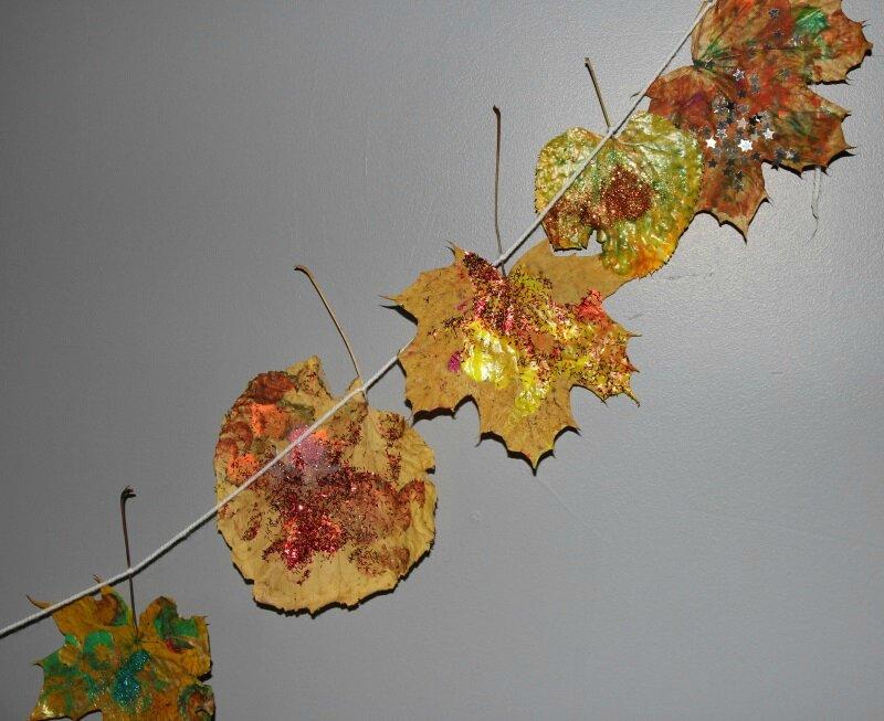 Guirlandes feuilles 2