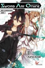 Sword Art Online Aincrad Reiki Kawahara ABEC Ofelbe éditions light novel