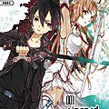 Sword art online : 001 aincrad de reiki kawahara & abec