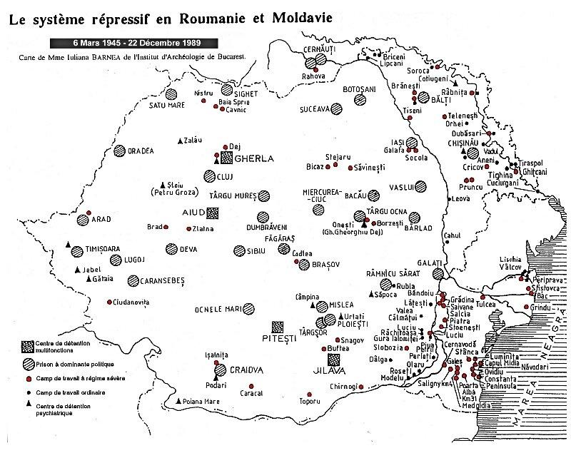 1989-camps diriges par la Securitate