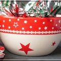 peinture sur porcelaine: Noël