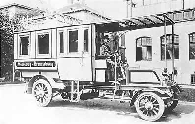 Bus mit Fahrer Seite 3