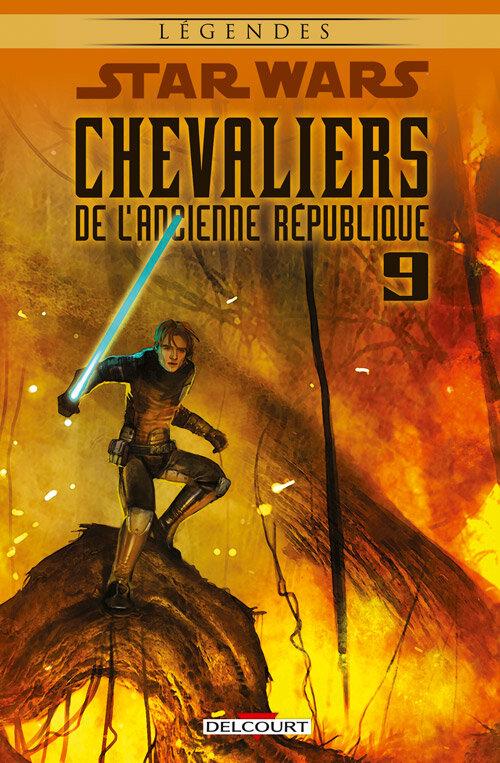 delcourt légendes star wars chevaliers de l'ancienne république 09 le dernier combat