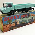 Berliet stradair benne. #569. dinky toys atlas.