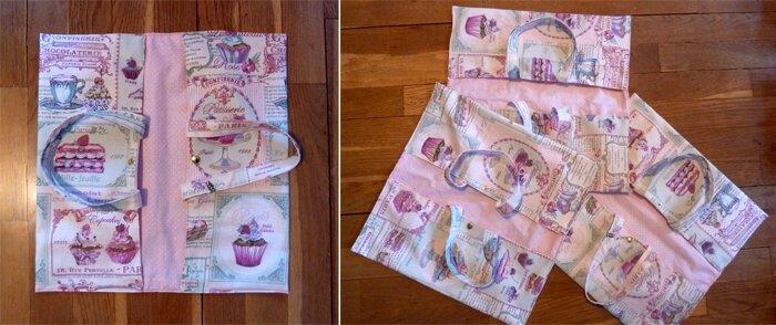 30 Sac à tarte tissu