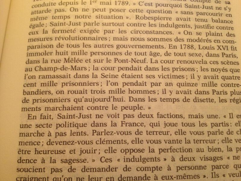 répression sous Louis XVI