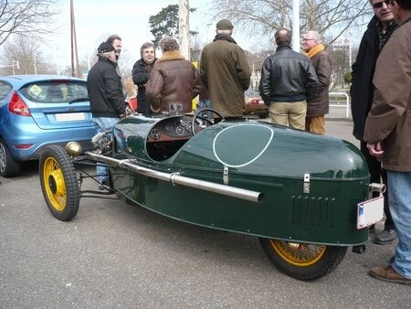 MORGAN Super Sport 3-Wheeler 1933 Strasbourg (2)