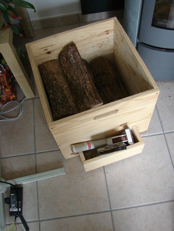Caisse Bois À Roulettes caisse à bois - bricolage & meubles en bois