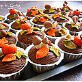 Muffins d'automne à la crème de marron