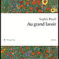 Au grand lavoir - sophie daull - editions philippe rey